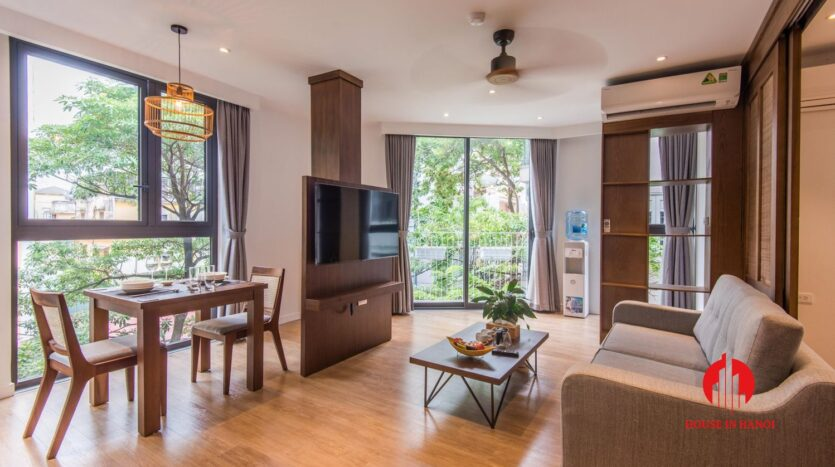zen style apartment on linh lang ba dinh 6