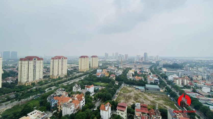 new lake view 2 bedroom apartment for rent on lac long quan 8