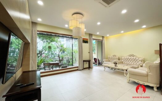 villa for rent in hoa lan vinhomes riverside with basement 15