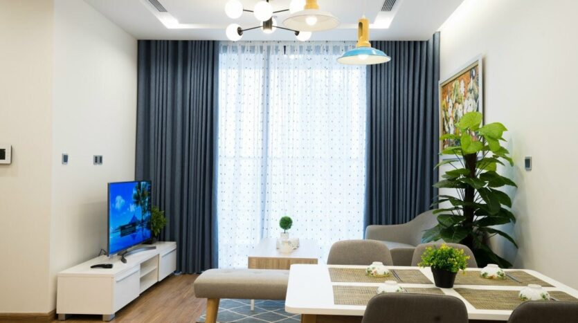 Green Style Apartment For Rent near Kim ma Street 3