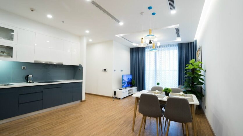 Green Style Apartment For Rent near Kim ma Street 4