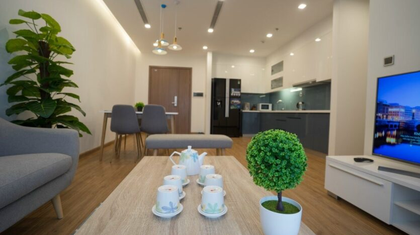 Green Style Apartment For Rent near Kim ma Street 5