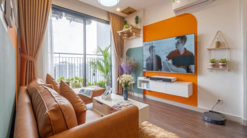 Splendid Vinhomes Smart City apartment for rent 2BRs 59sqm 450USD 1 1200x900 1
