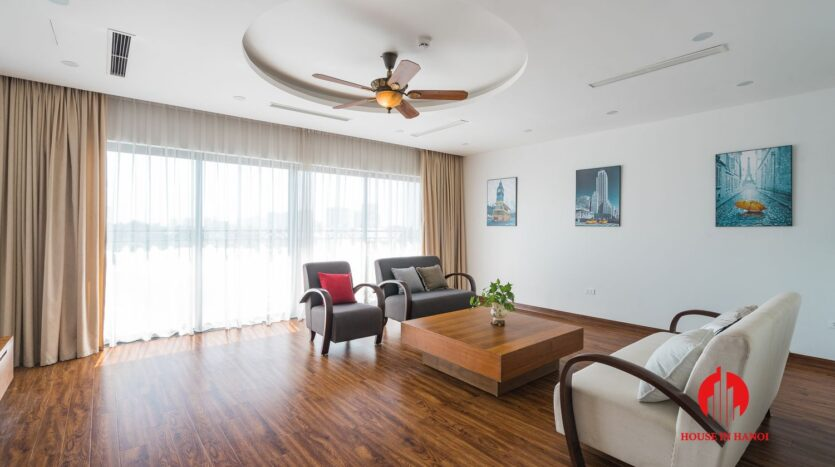 lake view duplex for rent in tay ho 1