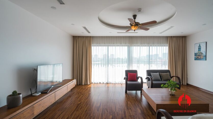 lake view duplex for rent in tay ho 2