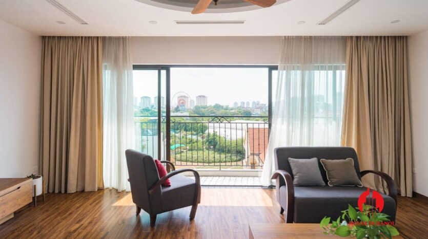 lake view duplex for rent in tay ho 9