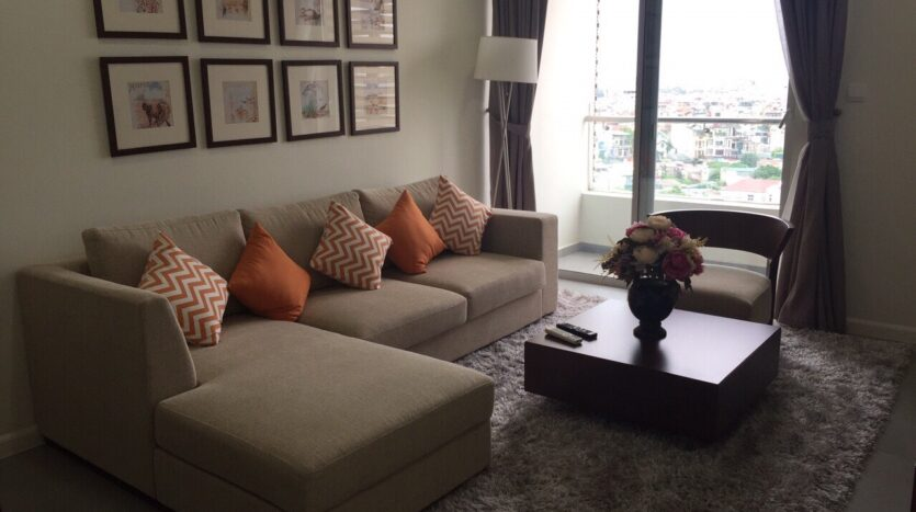 Captivating 2BRs Apartment for Rent in Lac Long Quan Street 9