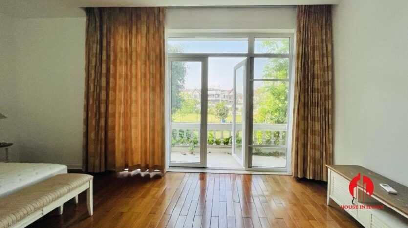 golf view villa for rent in hanoi close to nature 10
