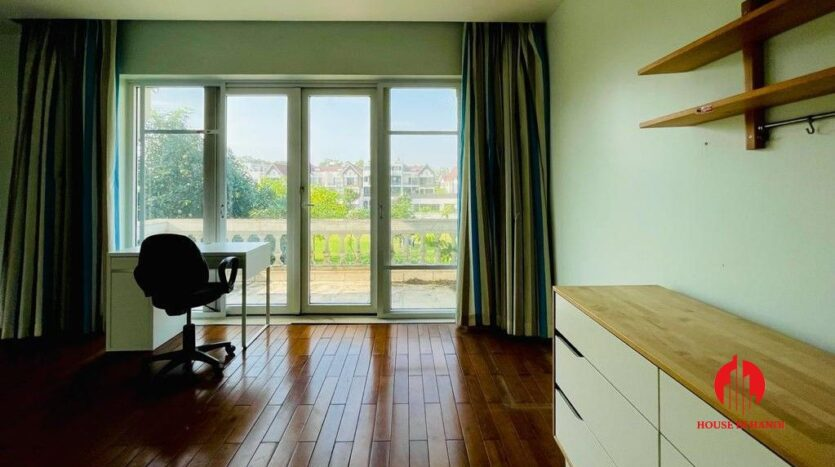 golf view villa for rent in hanoi close to nature 23
