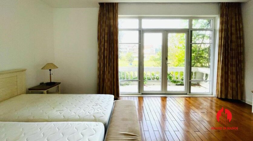 golf view villa for rent in hanoi close to nature 6