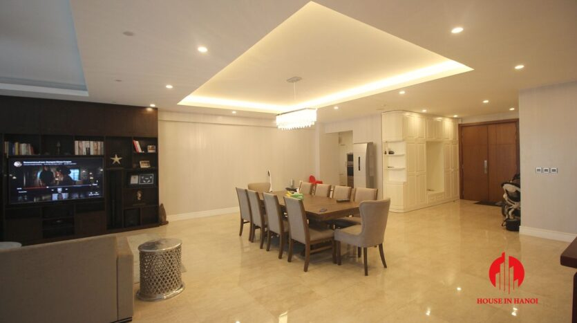 pool view 267m2 apartment in ciputra 11