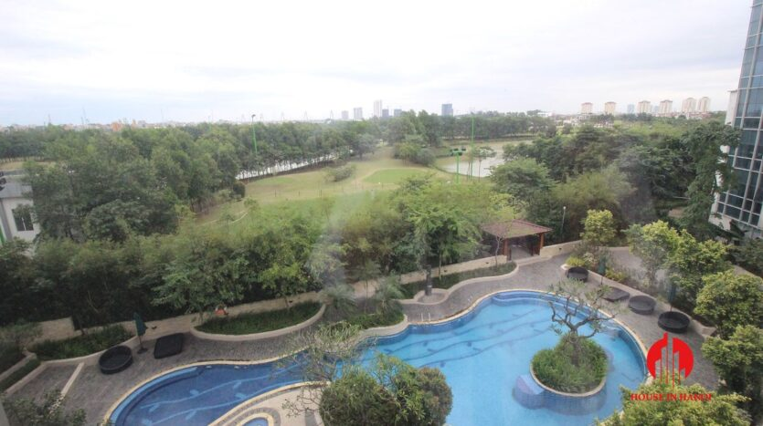 pool view 267m2 apartment in ciputra 6