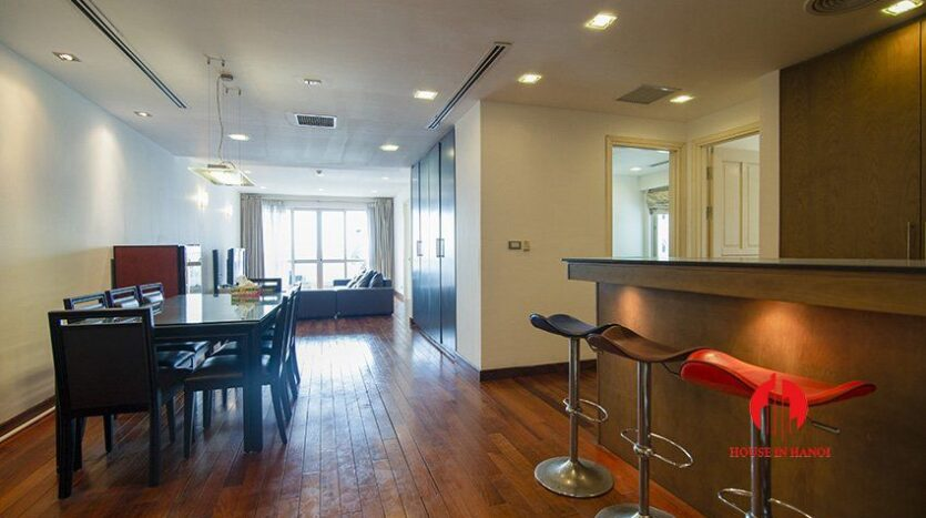 western style apartment for rent in p1 ciputra 11