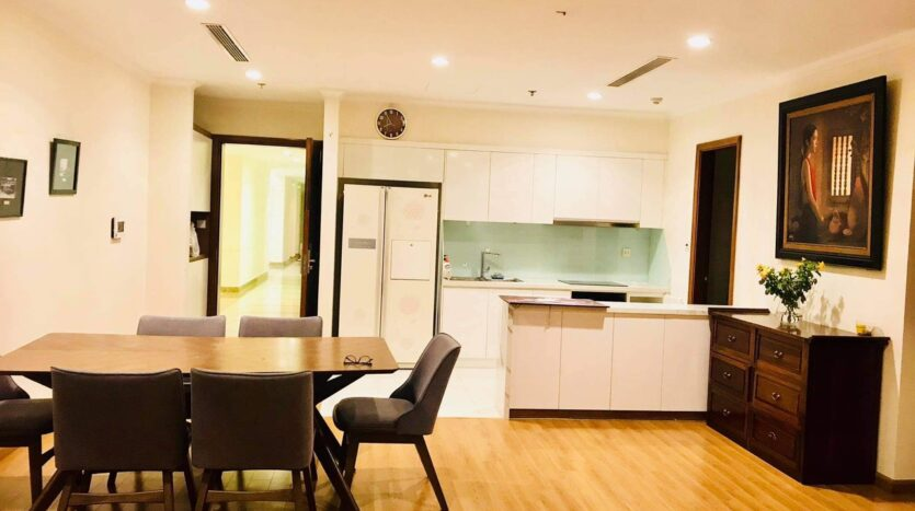 Lovely Full Furnished 3BRs for Rent in Nguyen Chi Thanh street 7