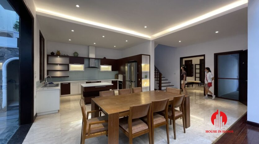 Nicely renovated villa in T7 Ciputra 15