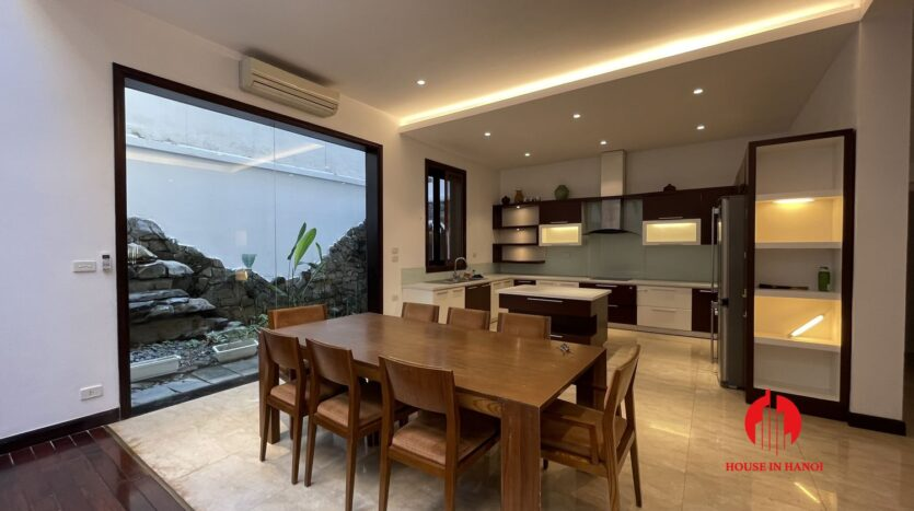 Nicely renovated villa in T7 Ciputra 8